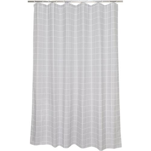Cortina de baño industrial algodón+poliéster 180x200 cm