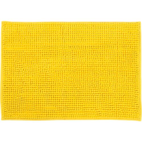 Alfombra de baño easy rectangular amarillo 40x60 cm
