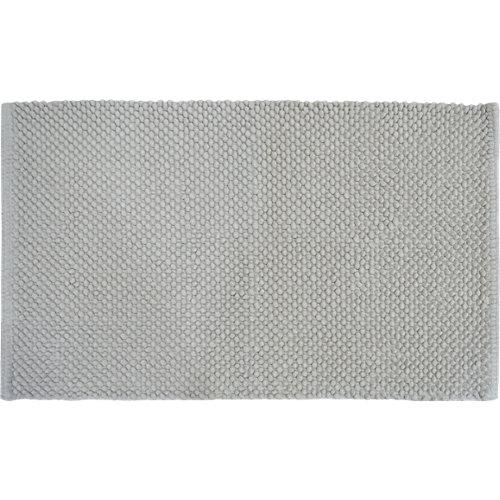 Alfombra de baño bubble rectangular blanco 50x80 cm