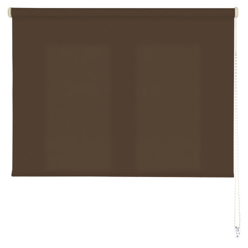 Estor enrollable ecofuture marrón 180x250