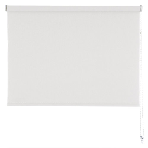 Estor enrollable sunset black-out blanco 180x190