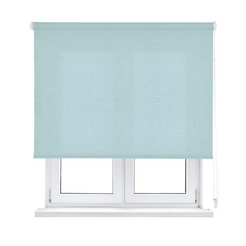 Estor enrollable shape azul claro 90x250