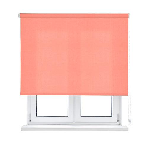 Estor enrollable shape rosa salmón 90x250