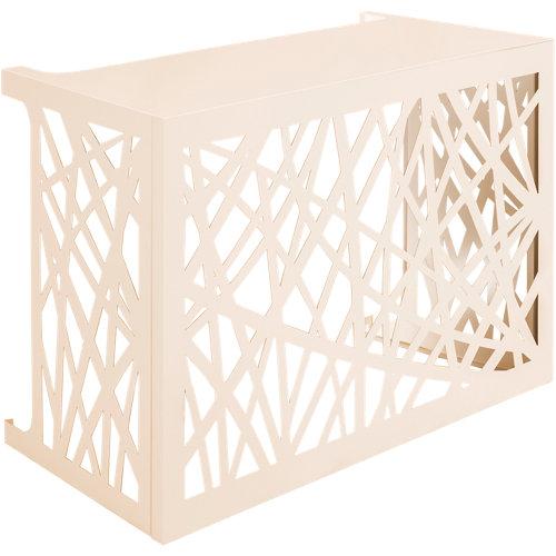 Celosia aire acondicionado exterior crema 102x78x50 cm