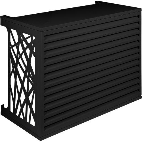 Celosia aire acondicionado exterior antracita 102x78x50 cm