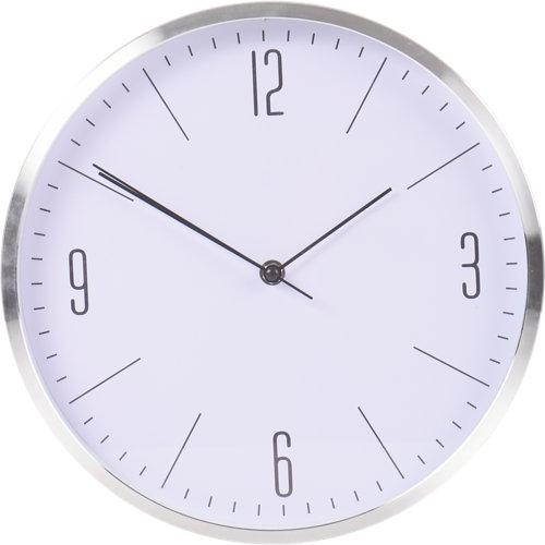 Reloj pared aluminio ø30 cm