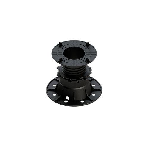 Base regulable soporte 80-130 mm 100 % plástico