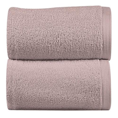 Toalla de algodón rosa 50 x 100 cm