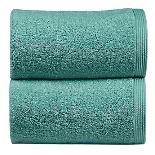 Toalla de algodón azul 50 x 100 cm
