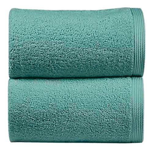 Toalla de algodón azul 70 x 140 cm