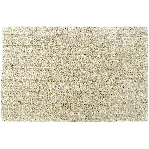 Alfombra de baño essential rectangular crema 40x60 cm