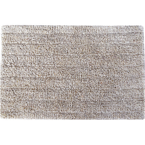 Alfombra de baño essential rectangular gris 40x60 cm