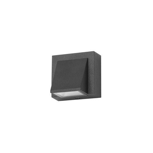 Aplique de exterior loyd 1 x led 2.1 negro
