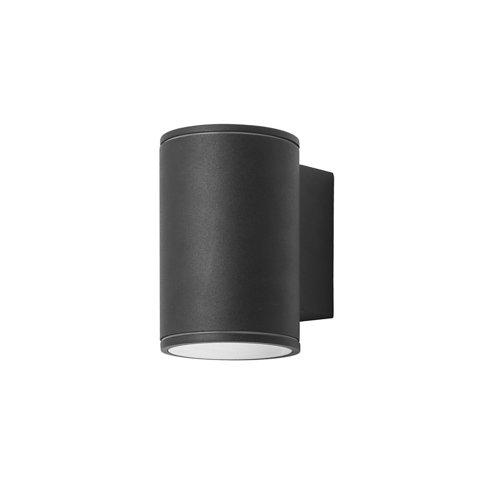Aplique de exterior orion 1 x led 5.6 negro