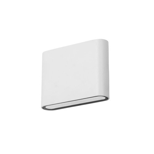 Aplique de exterior slim 8 x led 3.9 blanco