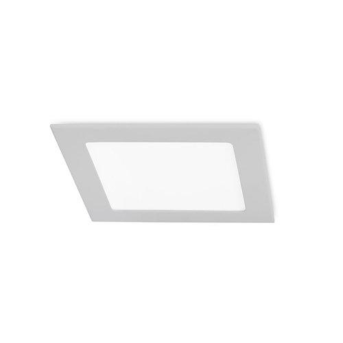 Empotrable de techo easy curadrado 30 x led 4.6 gris