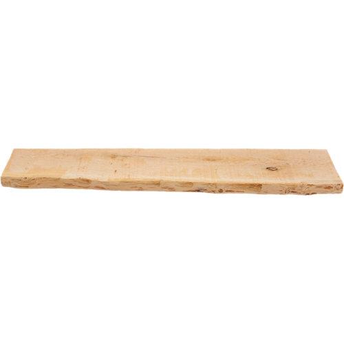 Estante roble macizo tarugo 18.5x90x3 cm