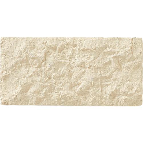 Azulejo cerámico de hormigón 12.5x39 elgon beige artens