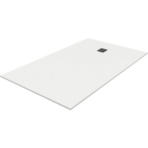 Plato ducha rectangular piettra 120x70 cm blanco