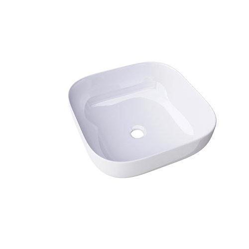 Lavabo palermo blanco brillo 42,5x15x12,1 cm