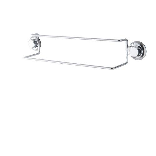 Toallero barra bestlock negro 60,6x12,5x10 cm