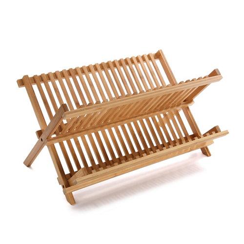 Escurridor de platos de armario de madera de 30x23.5x cm