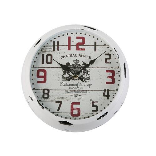 Reloj cocina salon blanco 30cm , 30x7.1x30 cm.
