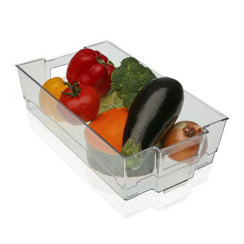 Envase refrigerador grande , 37.5x21.3x10.5 cm.