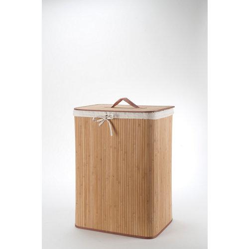 Cesto de ropa cestos marrón 94.5l