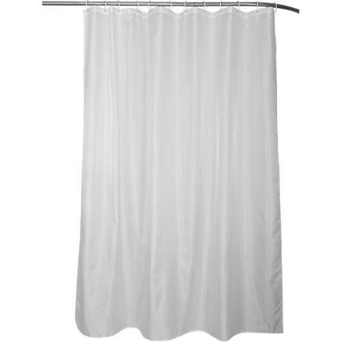 Cortina de baño happy blanco poliéster 180x200 cm