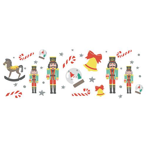 Sticker decorativo cascanueces infantil 32x200 cm
