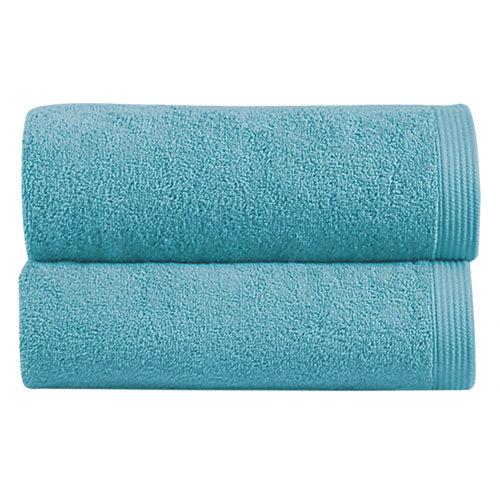 Toalla de algodón azul 100 x 150 cm