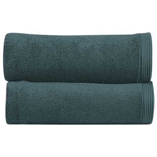 Toalla de algodón verde 100 x 150 cm