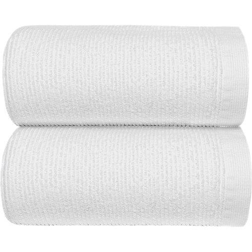 Toalla de algodón blanco 95 x 150 cm