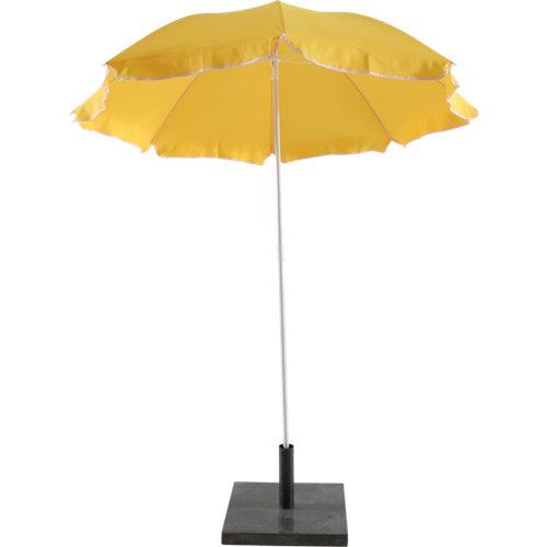 Parasol metálico playa amarillo 180 cm