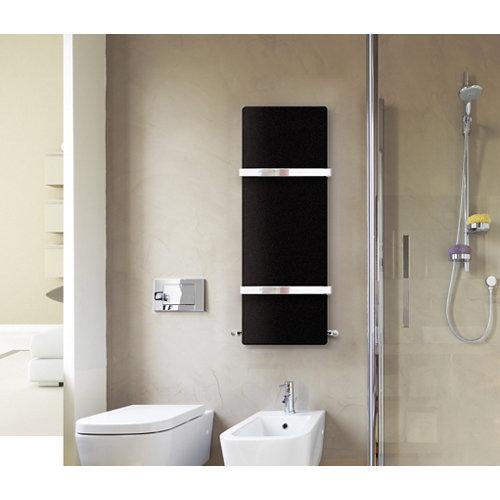 Radiador toallero dedalo renova negro
