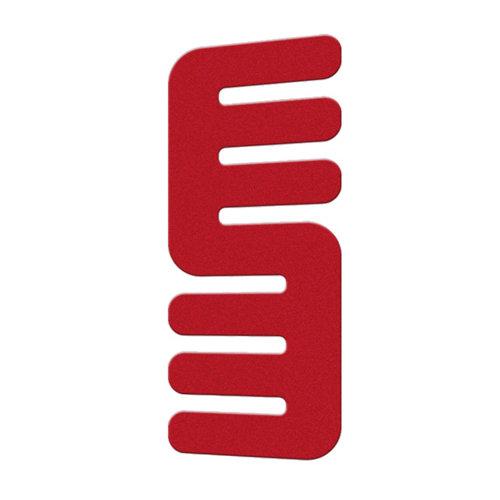 Radiador toallero hydra rojo