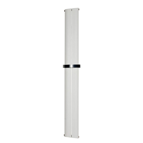 Radiador de agua cicsa seda 1800/280 aluminio blanco