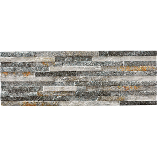Revestimiento peak artens grey 17x52 cm