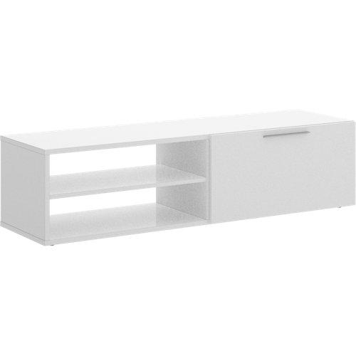 Mueble de televisión sirius blanco 131x33x40 cm