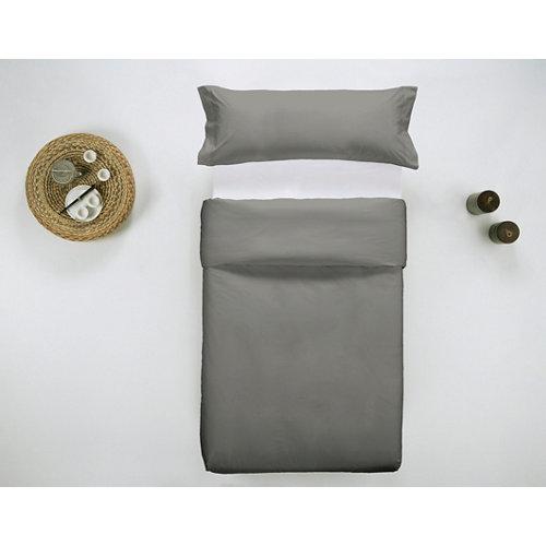 Funda nórdica cama 90 percal liso helecho w.g.