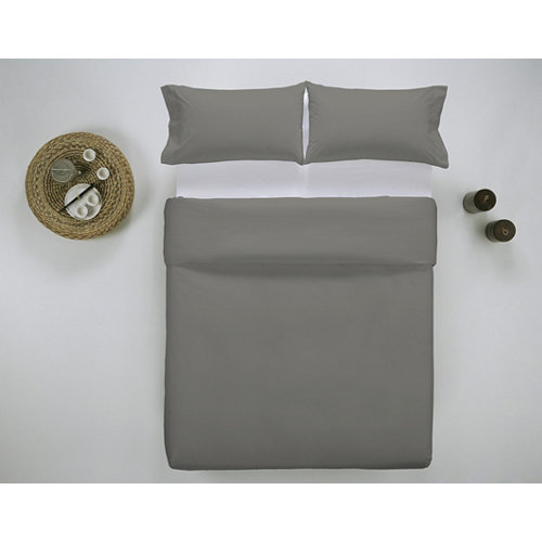 Funda nórdica cama 200cm percal liso helecho w.g.