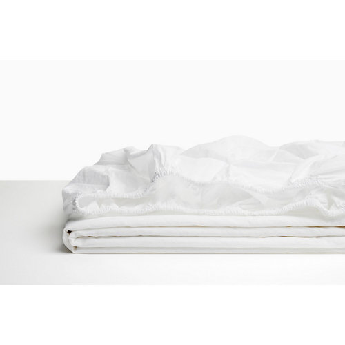 Sabana bajera ajustable cama 105cm percal liso bl ópt w.g