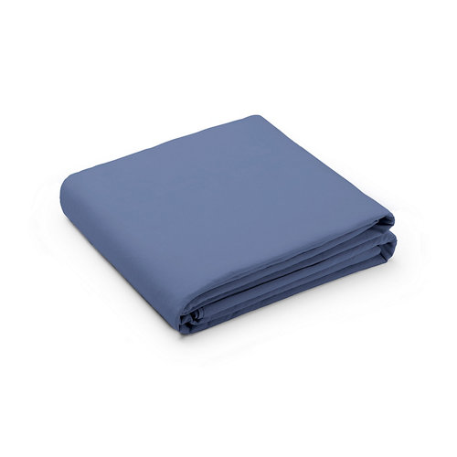 Sabana encimera cama 105cm percal liso blueberry w.g.