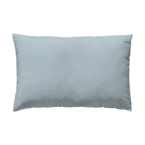 Funda almohada 45x110 cama 90cm percal liso baby blue w.g.