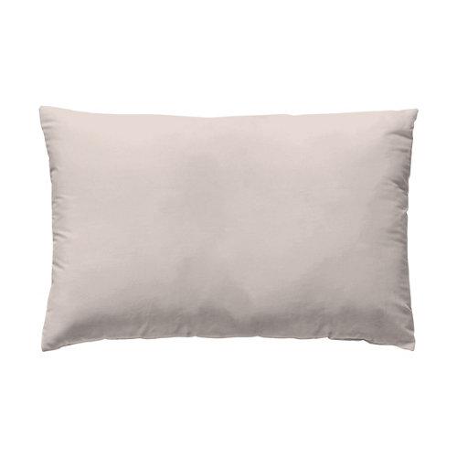 Funda almohada 45x125 percal liso cama 135cm baby pink w.g.