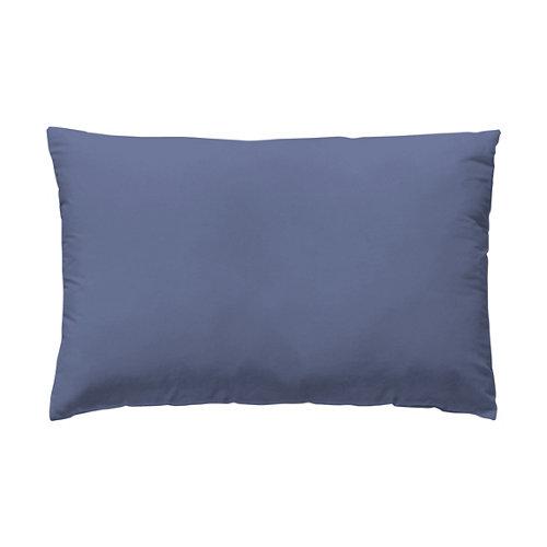 Funda almohada 45x125 percal liso cama 135cm blueberry w.g.