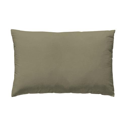 Funda almohada 45x125 percal liso cama 135cm bronce w.g.