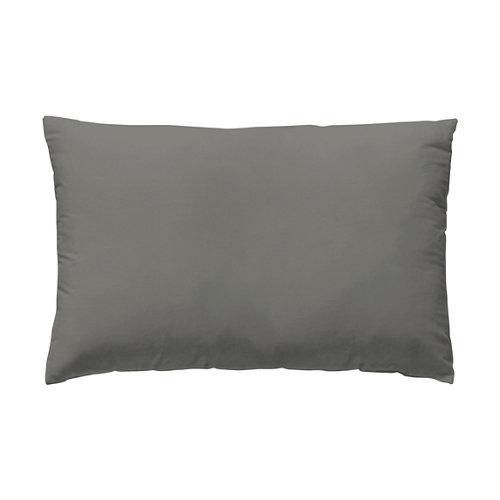 Funda almohada 45x125 percal liso cama 135cm helecho w.g.