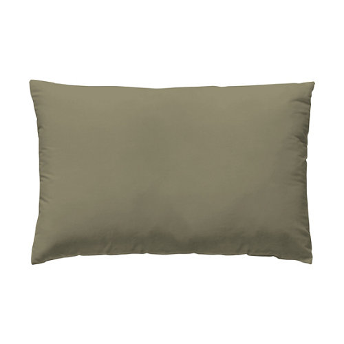 Funda almohada 50x75 percal liso bronce w.g. pack 2 und